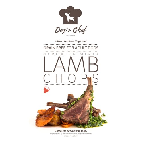 DOG'S CHEF Herdwick Minty Lamb Chops 15kg