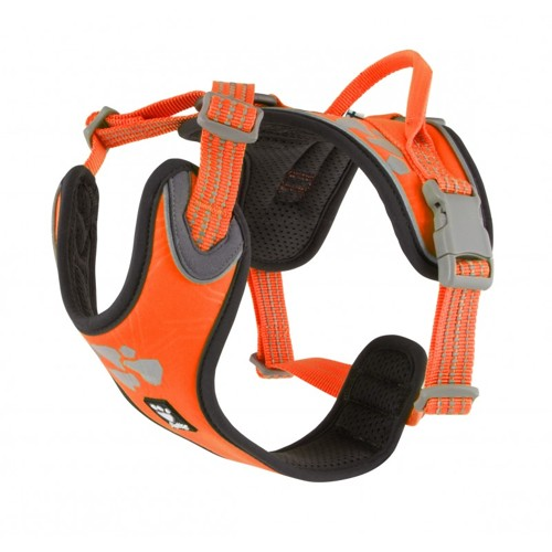 Postroj Hurtta Weekend Warrior Neon oranžový 60-80cm