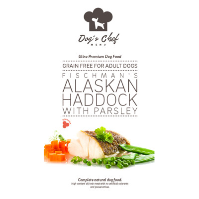 DOG'S CHEF Fischman's Alaskan Haddock with Parsley 500g