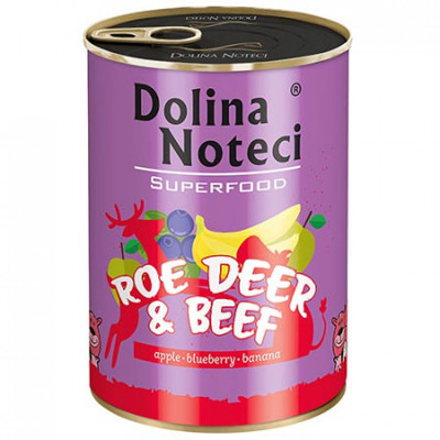 Dolina Noteci Superfood Srnec a hovädzie 400g