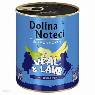 Dolina Noteci Superfood Teľacie a jahňa 400g